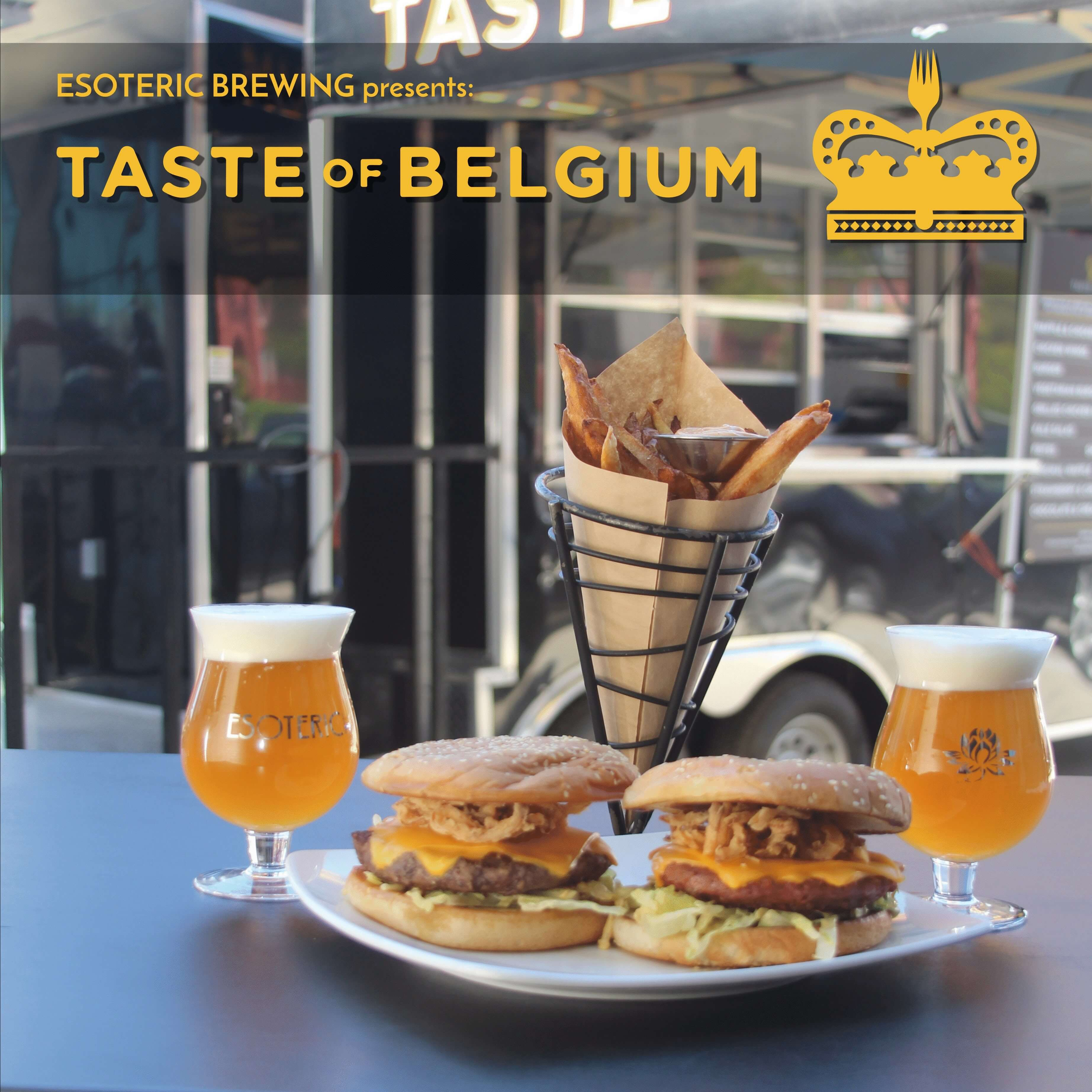 Taste of Belgium Menu